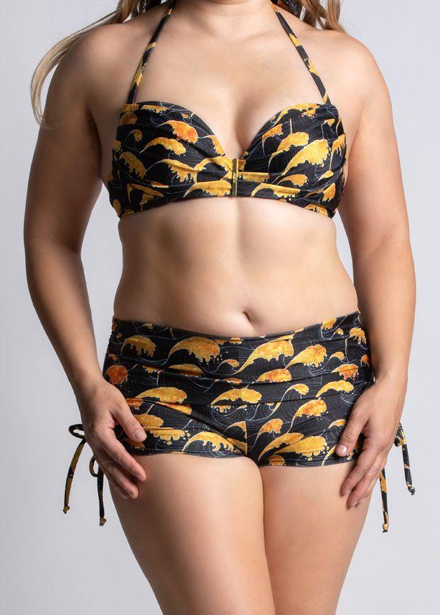 Sea of Gold Brizo Padded Bandeau Bikini Top