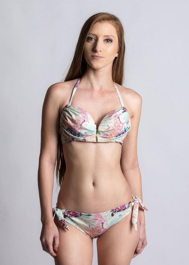 Sea Turtle Fields Brizo Padded Bandeau Bikini Top